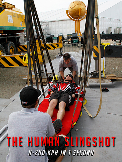 The Human Slingshot Poster Web