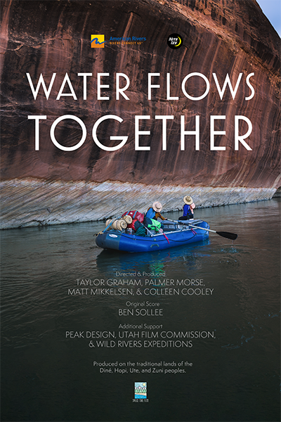 Water Flows Together Poster Web