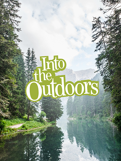 Into the Outdoors Poster Web