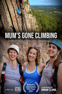 Mum's Gone Climbing Poster Web